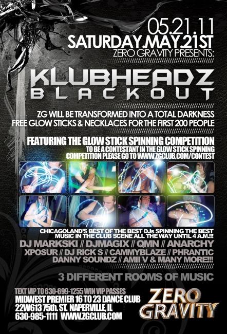 may 21st. Sat May 21st Klubheadz @ Zero