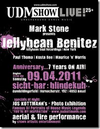 April 9 – 7 YEARS ¦ UDM Show LIVE! 25+ ¦ sicht-bar/blindekuh Basel ¦ (Ab 25 Jahren) – Basel, Switzerland